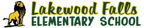 Lakewood Falls Elementary School logo centered